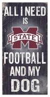 Mississippi State Bulldogs Football & My Dog Sign
