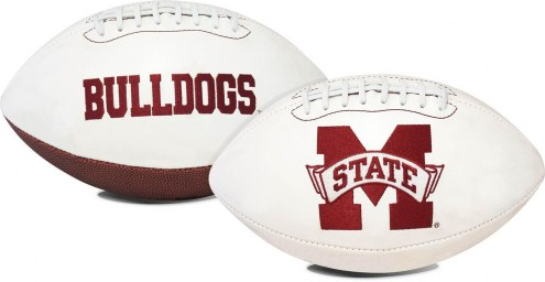 Mississippi State Bulldogs Full Size Embroidered Signature Series Football