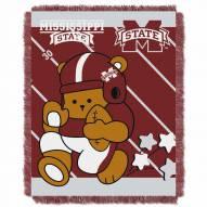 Mississippi State Bulldogs Fullback Baby Blanket