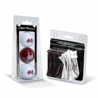 Mississippi State Bulldogs Golf Ball & Tee Pack