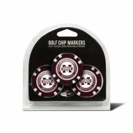 Mississippi State Bulldogs Golf Chip Ball Markers