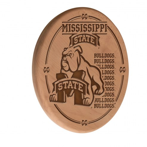 Mississippi State Bulldogs Laser Engraved Wood Sign