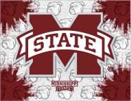 Mississippi State Bulldogs Logo Canvas Print
