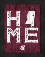 Mississippi State Bulldogs Home Away From Home Wall Decor