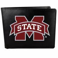 Mississippi State Bulldogs Large Logo Bi-fold Wallet