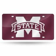 Mississippi State Bulldogs Laser Cut License Plate