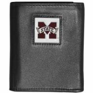 Mississippi State Bulldogs Leather Tri-fold Wallet