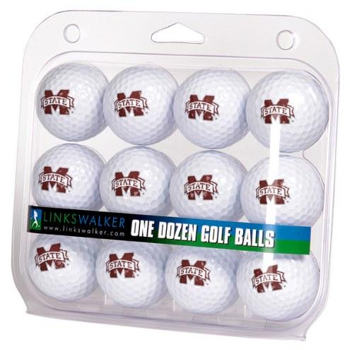 Mississippi State Bulldogs Dozen Golf Balls