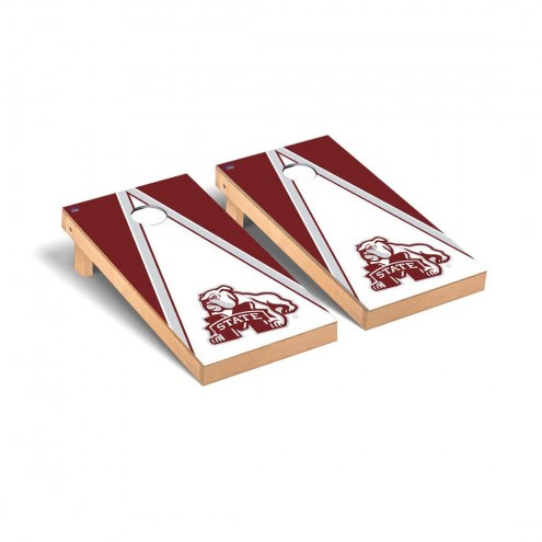 Mississippi State Bulldogs Logo Triangle Cornhole Game Set