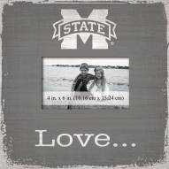 Mississippi State Bulldogs Love Picture Frame
