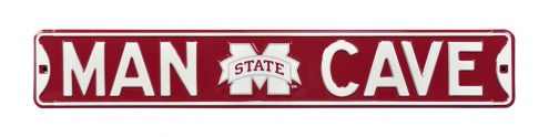 Mississippi State Bulldogs Man Cave Street Sign