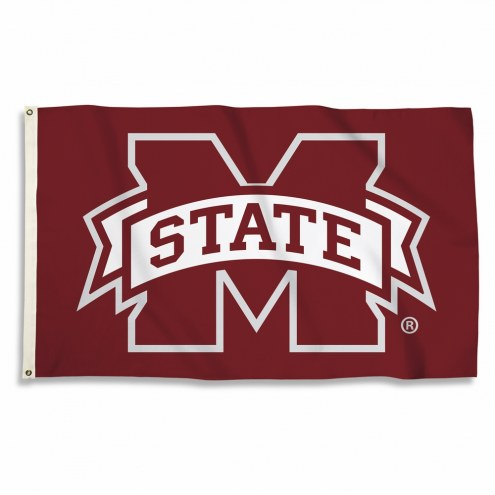 Mississippi State Bulldogs Maroon 3' x 5' Flag