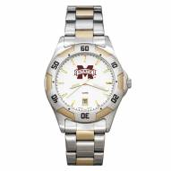 Mississippi State Bulldogs Men's All-Pro Two-Tone Watch
