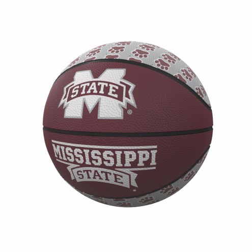 Mississippi State Bulldogs Mini Rubber Basketball