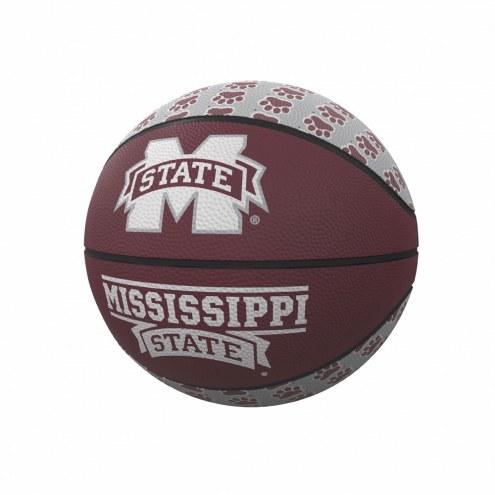 Mississippi State Bulldogs Mini Rubber Basketball