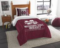 Mississippi State Bulldogs Modern Take Twin Comforter Set