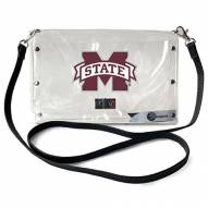 Mississippi State Bulldogs Clear Envelope Purse