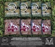 Mississippi State Bulldogs Operation Hat Trick Cornhole Bag Set