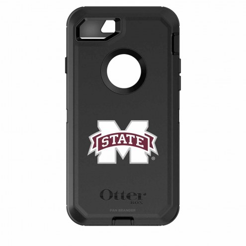 Mississippi State Bulldogs OtterBox iPhone 8/7 Defender Black Case