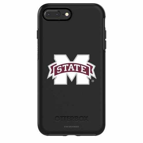 Mississippi State Bulldogs OtterBox iPhone 8/7 Symmetry Black Case