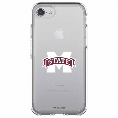 Mississippi State Bulldogs OtterBox iPhone 8/7 Symmetry Clear Case