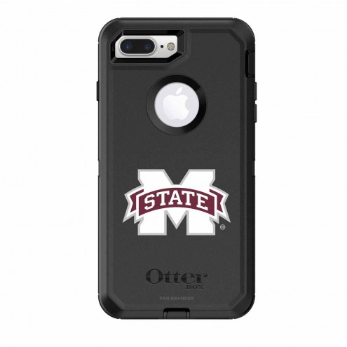 Mississippi State Bulldogs OtterBox iPhone 8 Plus/7 Plus Defender Black Case