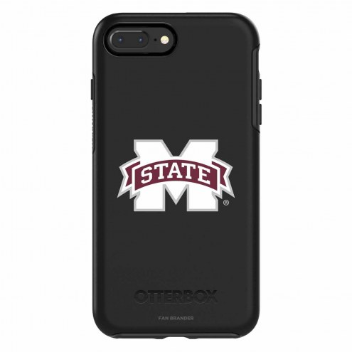 Mississippi State Bulldogs OtterBox iPhone 8 Plus/7 Plus Symmetry Black Case