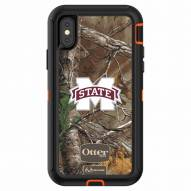 Mississippi State Bulldogs OtterBox iPhone X Defender Realtree Camo Case