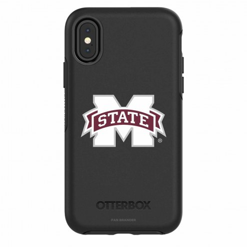 Mississippi State Bulldogs OtterBox iPhone X Symmetry Black Case