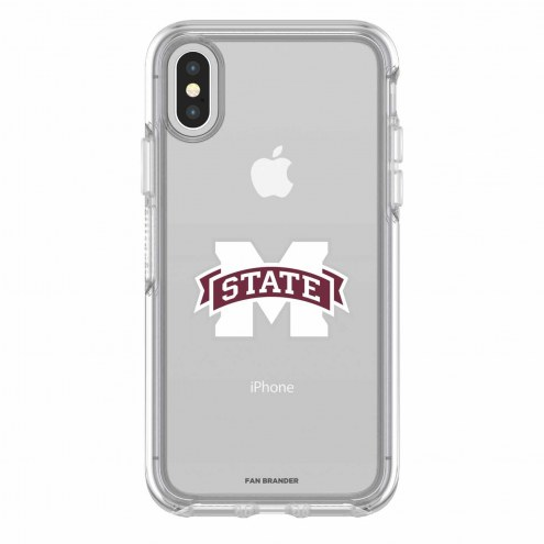 Mississippi State Bulldogs OtterBox iPhone X Symmetry Clear Case