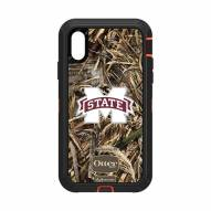Mississippi State Bulldogs OtterBox iPhone XR Defender Realtree Camo Case