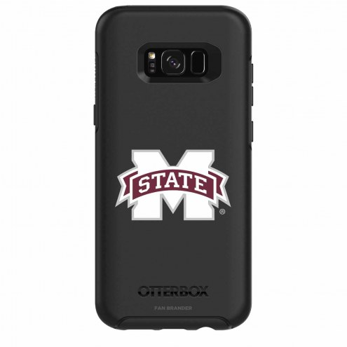 Mississippi State Bulldogs OtterBox Samsung Galaxy S8+ Symmetry Black Case