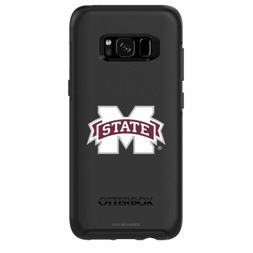 Mississippi State Bulldogs OtterBox Samsung Galaxy S8 Symmetry Black Case