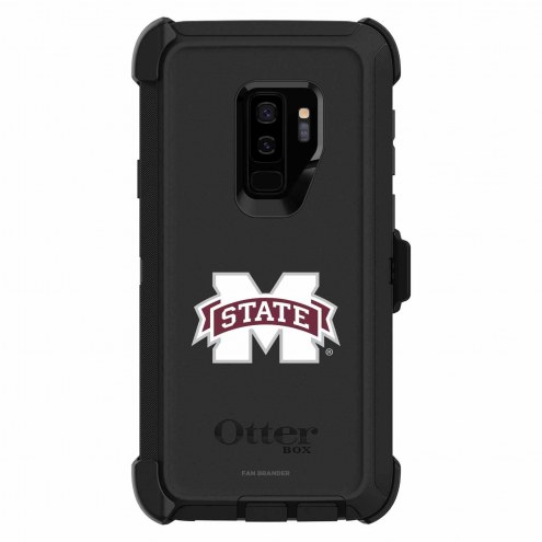 Mississippi State Bulldogs OtterBox Samsung Galaxy S9+ Defender Black Case