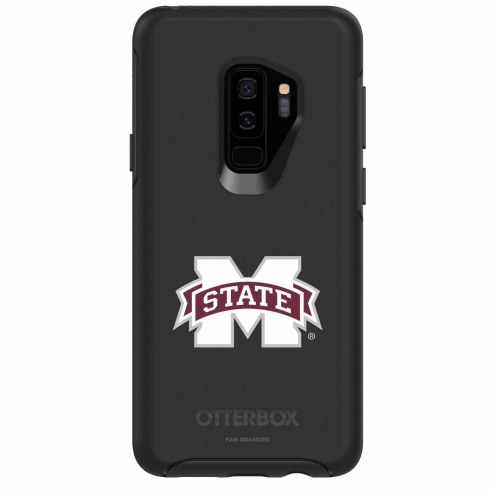 Mississippi State Bulldogs OtterBox Samsung Galaxy S9+ Symmetry Black Case
