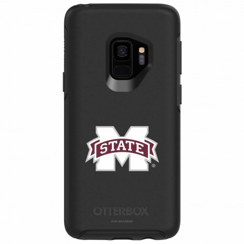 Mississippi State Bulldogs OtterBox Samsung Galaxy S9 Symmetry Black Case