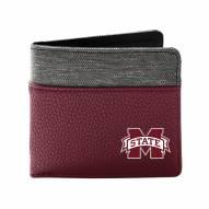 Mississippi State Bulldogs Pebble Bi-Fold Wallet