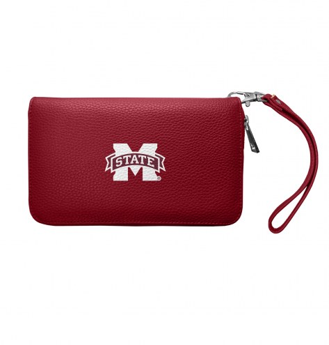 Mississippi State Bulldogs Pebble Organizer Wallet