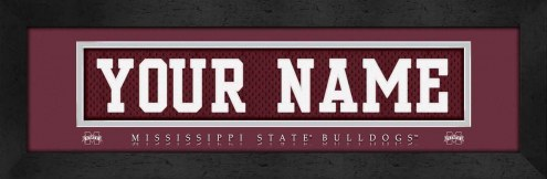 Mississippi State Bulldogs Personalized Stitched Jersey Print