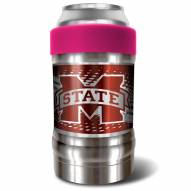 Mississippi State Bulldogs Pink 12 oz. Locker Vacuum Insulated Can Holder