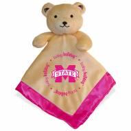 Mississippi State Bulldogs Infant Bear Security Blanket