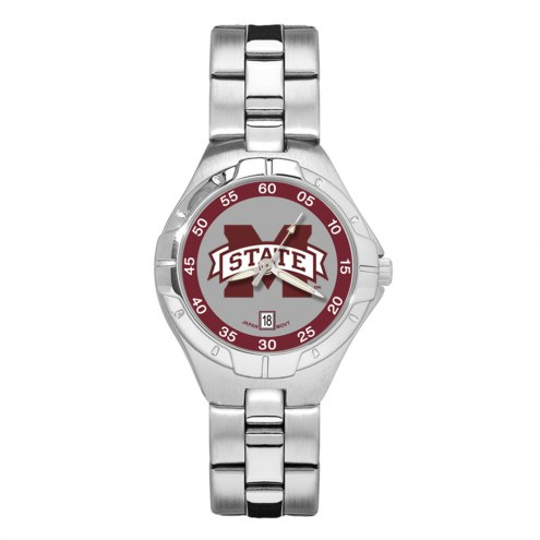 Mississippi State Bulldogs Pro II Women's Bracelet Watch