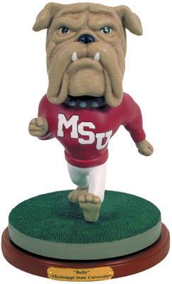 Mississippi State Bulldogs Collectible Mascot Figurine