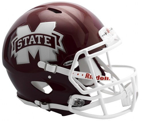 Mississippi State Bulldogs Riddell Speed Full Size Authentic Football Helmet