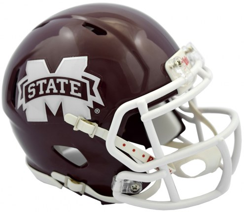 Mississippi State Bulldogs Riddell Speed Mini Collectible Football Helmet
