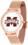 Mississippi State Bulldogs Rose Mesh Statement Watch