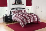 Mississippi State Bulldogs Rotary Queen Bed in a Bag Set