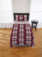 Mississippi State Bulldogs Rotary Twin Bed in a Bag Set