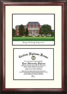Mississippi State Bulldogs Scholar Diploma Frame