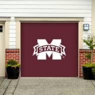 Mississippi State Bulldogs Single Garage Door Banner